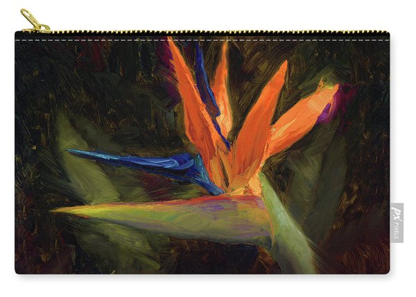 Extravagance - Tropical Bird Of Paradise Flower Carry-all Pouch