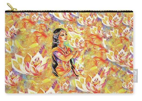 Pray Of The Lotus River Carry-all Pouch