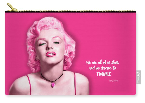 Movie Star Art - Monroe Carry-all Pouch