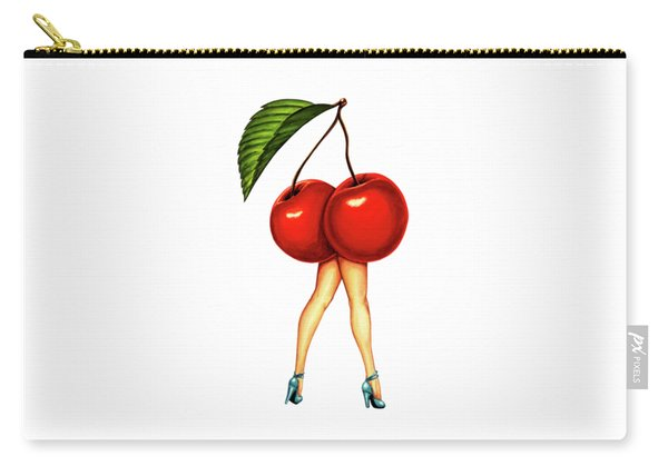 Fruit Stand- Cherry Carry-all Pouch