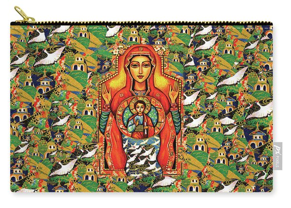 Our Lady Of The Sign Carry-all Pouch