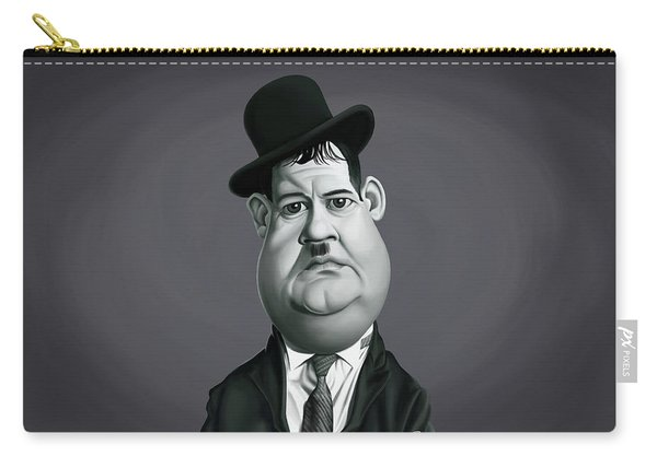 Celebrity Sunday - Oliver Hardy Carry-all Pouch