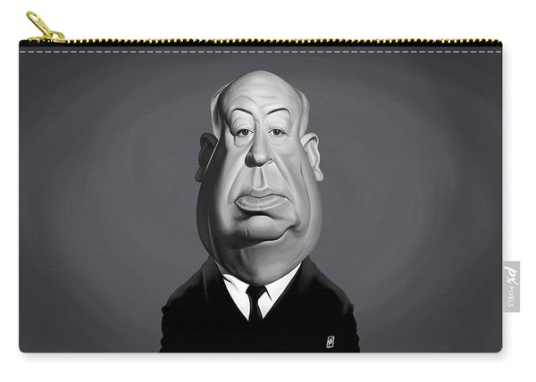 Celebrity Sunday - Alfred Hitchcock Carry-all Pouch