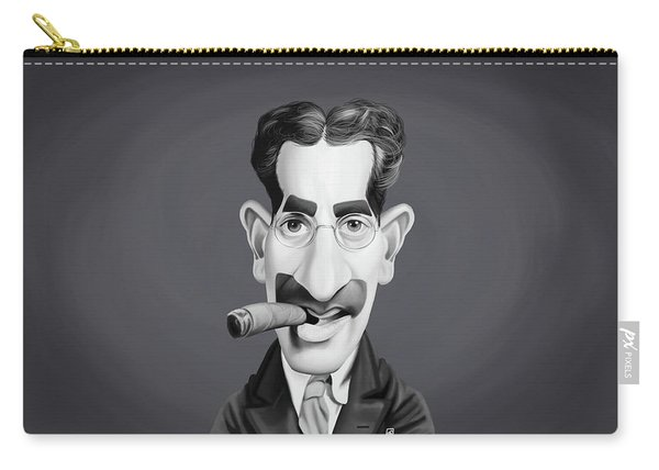 Celebrity Sunday - Groucho Marx Carry-all Pouch