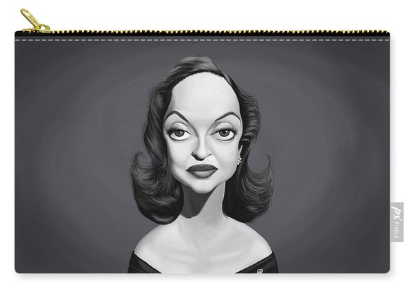 Celebrity Sunday - Bette Davis Carry-all Pouch
