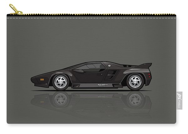 Vector W8 Twin Turbo Black Carry-all Pouch