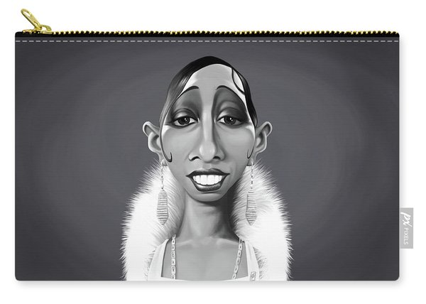 Celebrity Sunday - Josephine Baker Carry-all Pouch