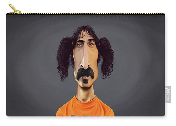 Celebrity Sunday - Frank Zappa Carry-all Pouch