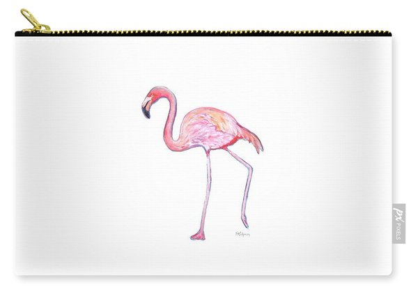 Pinky The Flamingo Carry-all Pouch