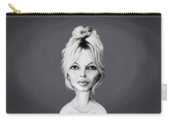 Celebrity Sunday - Brigitte Bardot Carry-all Pouch