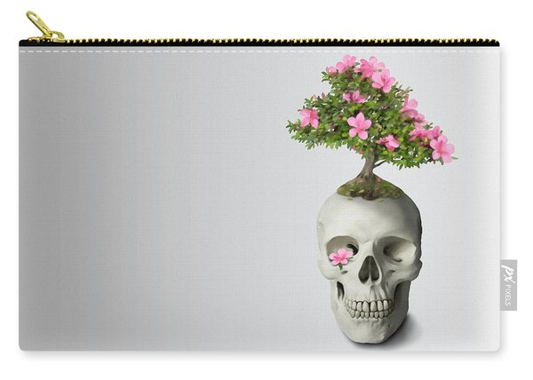 Bonsai Skull Carry-all Pouch