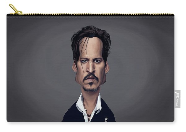 Celebrity Sunday - Johnny Depp Carry-all Pouch