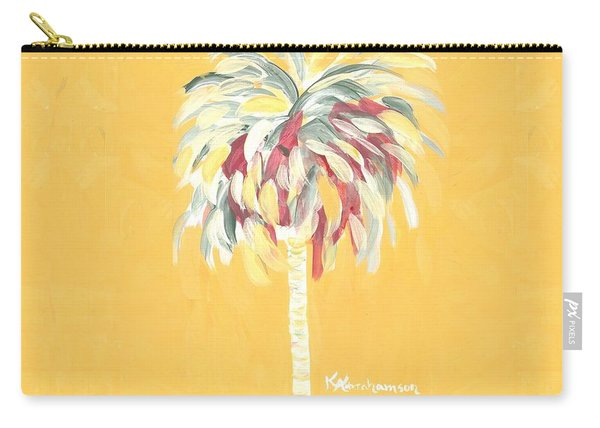 Canary Palm Tree Carry-all Pouch