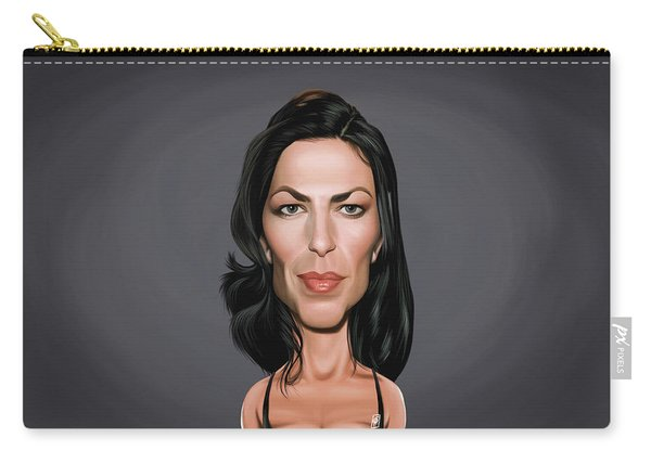 Celebrity Sunday - Claudia Black Carry-all Pouch