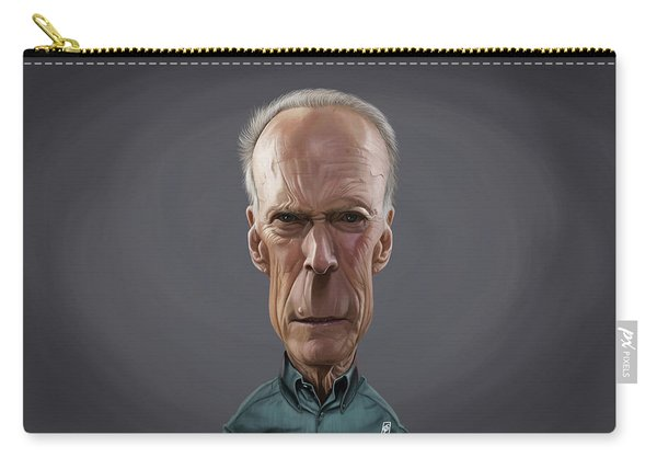 Celebrity Sunday - Clint Eastwood Carry-all Pouch
