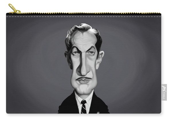 Celebrity Sunday - Vincent Price Carry-all Pouch