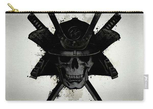 Samurai Skull Carry-all Pouch