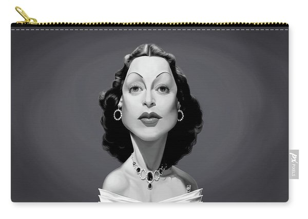 Celebrity Sunday - Hedy Lamarr Carry-all Pouch