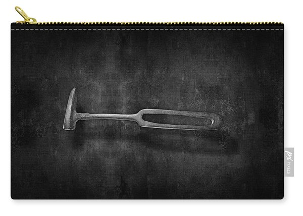 Rustic Hammer In Bw Carry-all Pouch