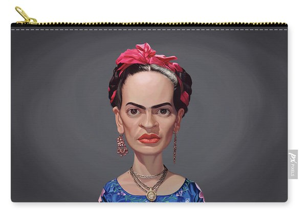Celebrity Sunday - Frida Kahlo Carry-all Pouch