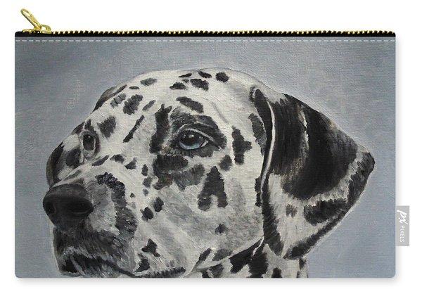 Dalmatian Portrait Carry-all Pouch
