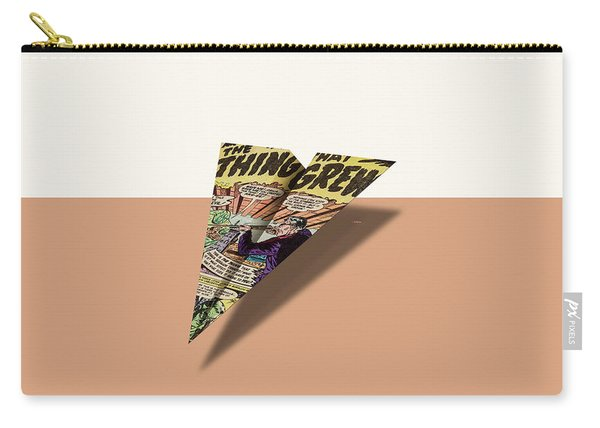 The Thing That Grew Paper Airplane Carry-all Pouch