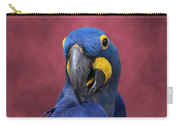 Cheeky Macaw Carry-all Pouch