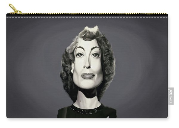 Celebrity Sunday - Joan Crawford Carry-all Pouch