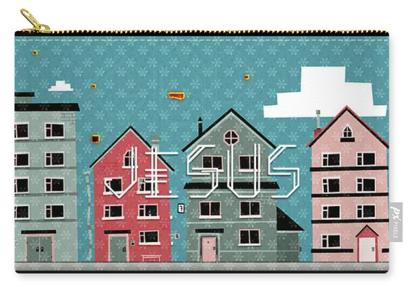 My Home My God Carry-all Pouch