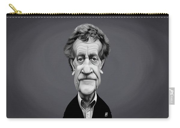 Celebrity Sunday - Kurt Vonnegut Carry-all Pouch