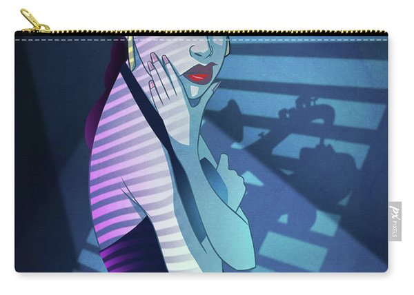 Carry-all Pouch featuring the digital art Stronger Than Pride by Nelson Dedos Garcia