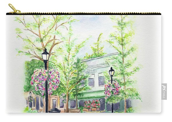 Across The Plaza Carry-all Pouch