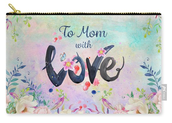 Mother's Day Love Carry-all Pouch