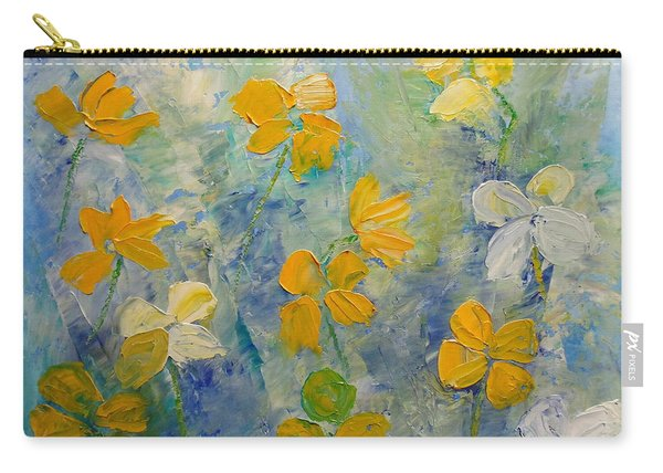 Blossoms In Breeze Carry-all Pouch