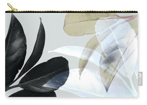 Moody Leaves Carry-all Pouch