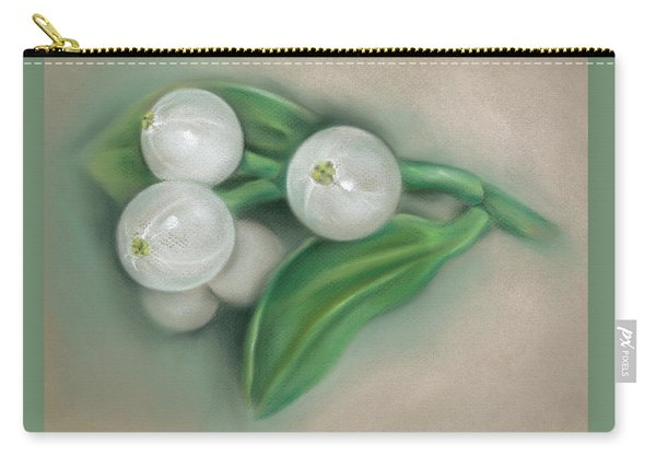 Mistletoe Berries Carry-all Pouch