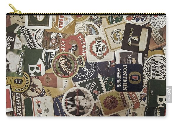 Beers Of The World Carry-all Pouch