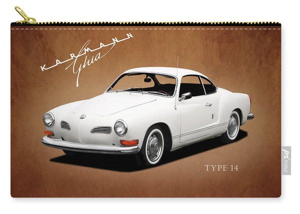 Vw Karmann Ghia Carry-all Pouch