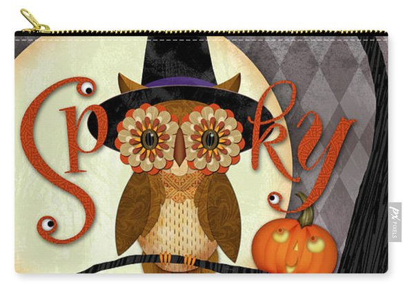Spooky Owl Carry-all Pouch