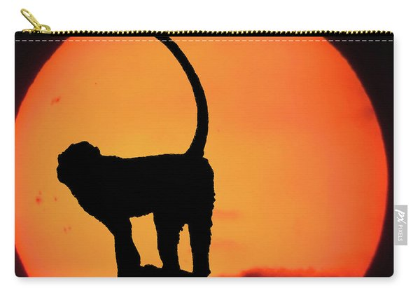 As The Day Ends Carry-all Pouch