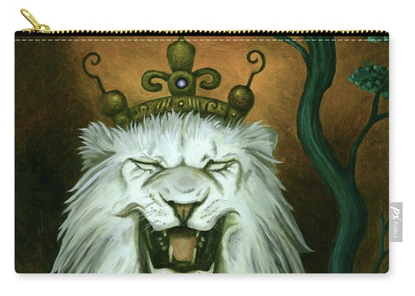 As The Lion Laughs Carry-all Pouch