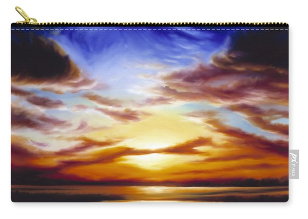 As The Sun Sets Carry-all Pouch