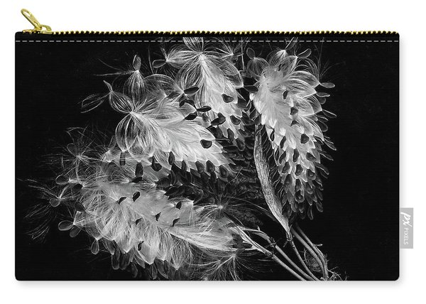 Asclepias Currasavica--seed Pod Carry-all Pouch