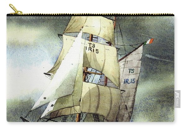 F  758  Asgard 11 Often Sailed Along The Wild Atlantic Way Carry-all Pouch