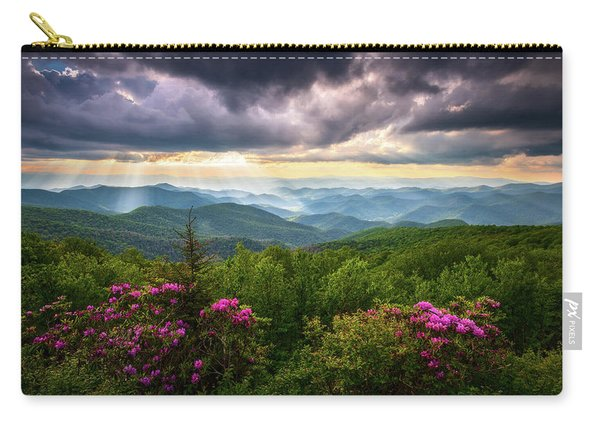 Asheville Nc Blue Ridge Parkway Scenic Landscape Photography Carry-all Pouch