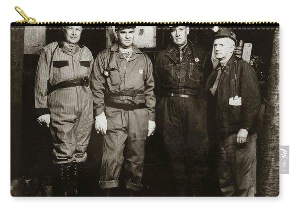 Ashley Pa  Glen Alden Coal Co  Huber Coal Breaker 1962 Carry-all Pouch