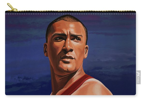 Ashton Eaton Painting Carry-all Pouch