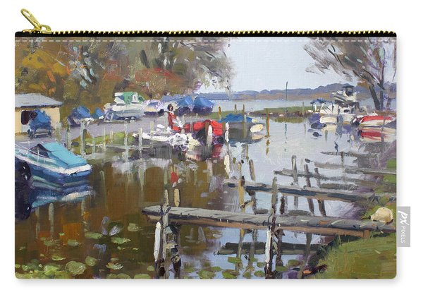 Ashville Bay Marina Carry-all Pouch