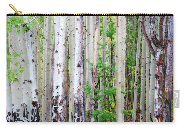Aspen Grove In The White Mountains Carry-all Pouch