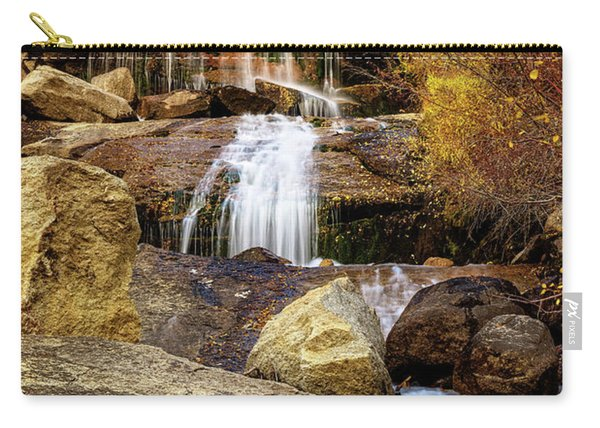 Aspen-lined Waterfalls Carry-all Pouch